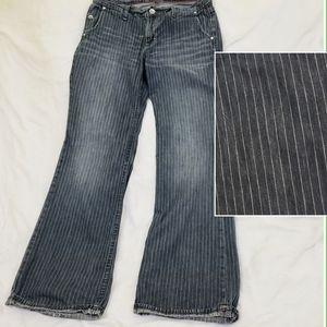 Gap 1969 Limited Edition Pinstripe Denim Jeans 10R